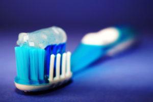 toothbrush close